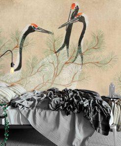 Reprodukcja dzie艂a Kamisaka Sekka na fototapecie