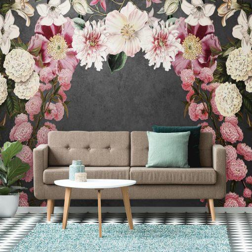 Foto-tapety z kwiatami