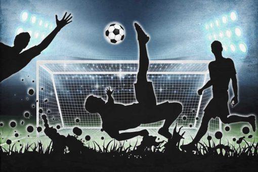 Fototapeta dzieci臋ca - Football do pokoju ch艂opca