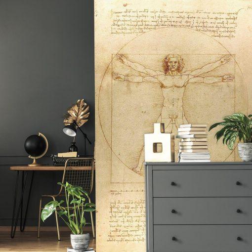 Fototapeta inspirowana Leonardo da Vinci do biura