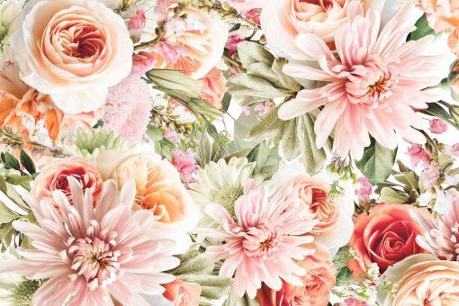 Fototapeta kwiaty ogrodowe