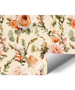 Fototapeta w barwne kwiaty do pokoju