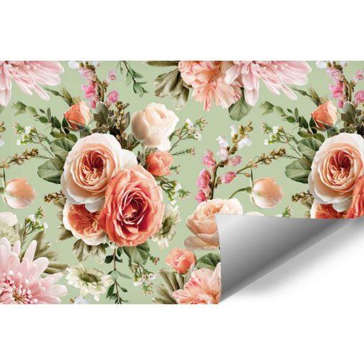 Fototapeta z letnimi kwiatami do salonu