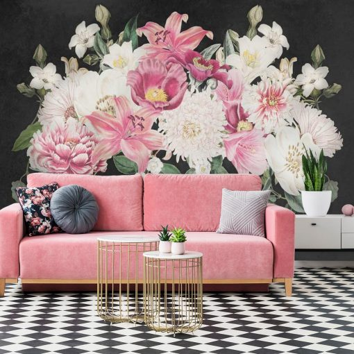 Fototapeta z liliami
