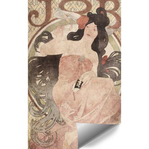 Fototapeta z reprodukcj膮 plakatu Alfonsa Muchy do przedpokoju