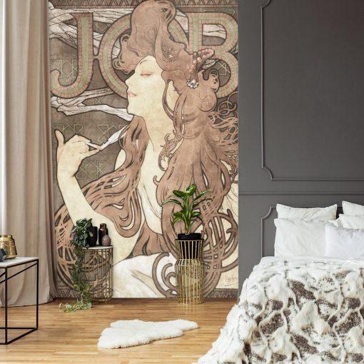 Fototapeta z reprodukcj膮 - Reklama papieros贸w do sypialni