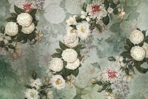 Kwiatowa kompozycja - Fototapeta