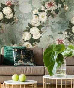 Kwiatowa kompozycja - Fototapeta do salonu