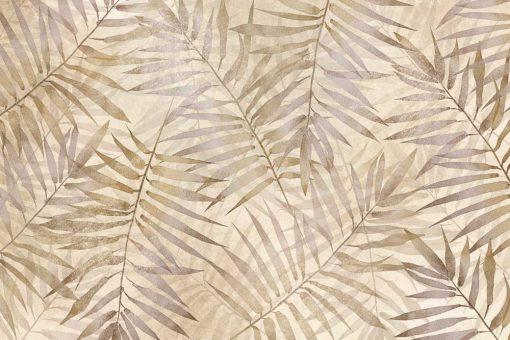 Orientalna fototapeta w palmowe li艣cie