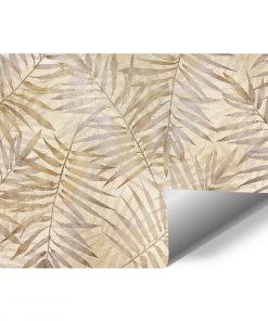 Orientalna fototapeta w palmowe li艣cie do przedpokoju