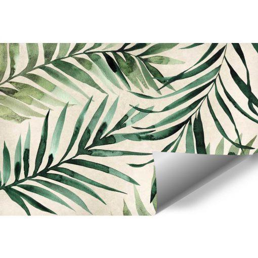 Tapeta z tropikalnymi li艣膰mi