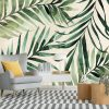Zielone li艣cie palmy daktylowej