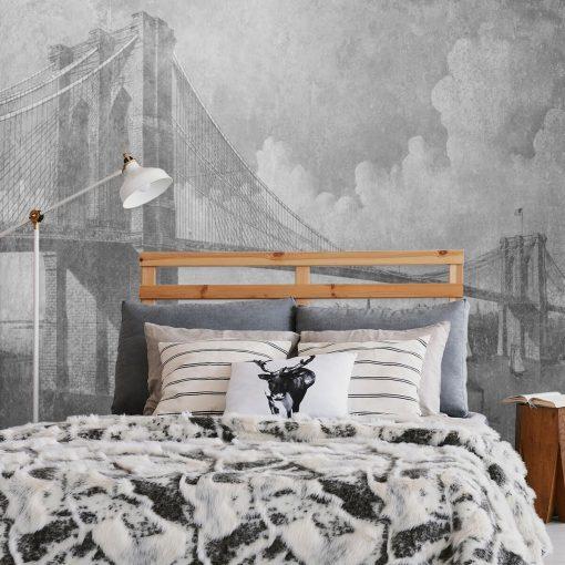 Fototapeta z mostem brookli艅skim do pokoju
