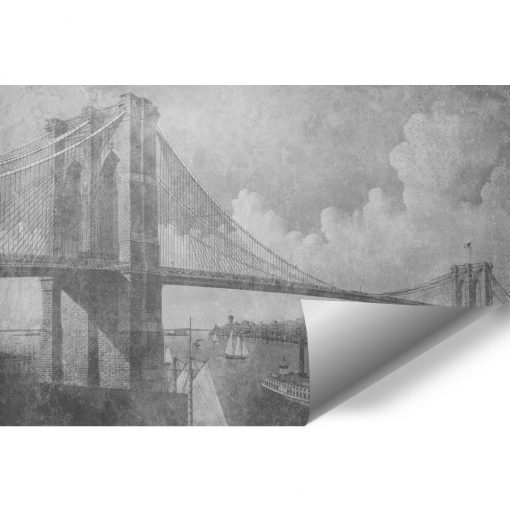 Fototapeta z mostem brookli艅skim do salonu