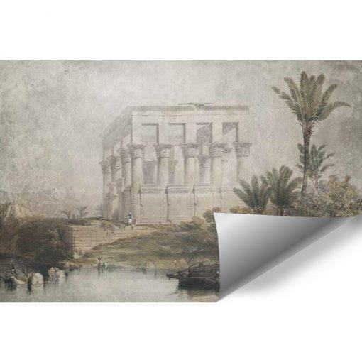Fototapeta ze 艣wi膮tyni膮 w Egipcie do salonu
