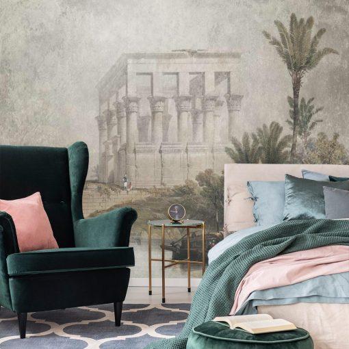 Fototapeta ze 艣wi膮tyni膮 w Egipcie do sypialni