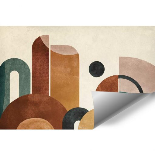 Tapeta z kolorow膮 abstrakcj膮 do pokoju