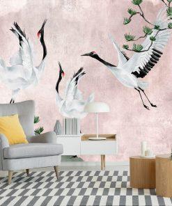 Fototapeta z ptakami