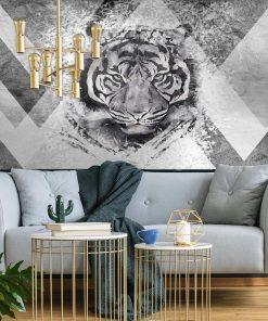 Tygrys na tapecie